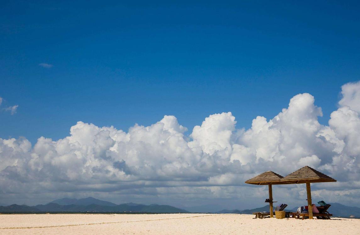 (三亚5日游)蜈支洲岛+千古情+天涯海角+南山+热带植物园+呀诺达+椰田古寨