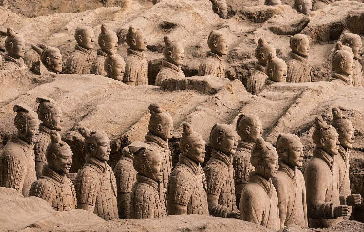兵马俑、华清宫、骊山一日游